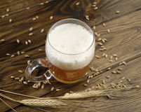 Стекло высокого пива взглядов Стоковое Изображение