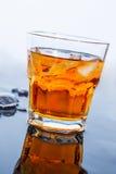 Стекло замороженного вискиа Стоковая Фотография RF