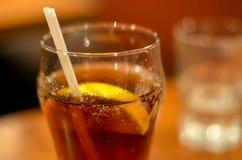 стекло заморозило чай Стоковое фото RF