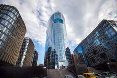 стекло здания сделало самомоднейшими Стоковые Фотографии RF