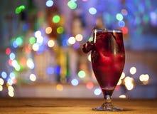 Стекло коктеиля вишни Стоковая Фотография RF
