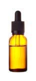 Стекло коричневого цвета бутылки медицины Стоковые Изображения