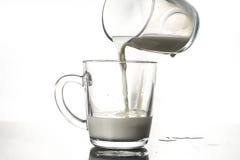Стекло молока Стоковое Изображение RF