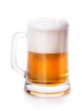 Стекло пены пива стоковое фото rf