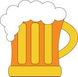 Стекло пива Иллюстрация штока