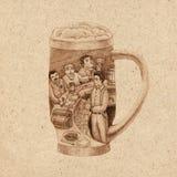 Стекло пива Стоковое Фото