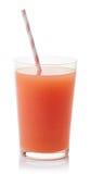 Стекло свежего сока грейпфрута Стоковые Изображения