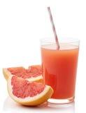 Стекло свежего сока грейпфрута Стоковая Фотография RF