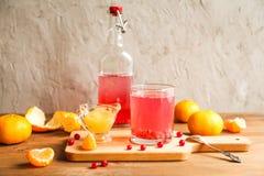 Стекло свежего сока красных смородин Стоковое Фото