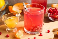 Стекло свежего сока красных смородин Стоковое Изображение RF