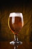 Стекло светлого пива Стоковая Фотография RF
