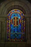 Стекло скошенное церковью Стоковое Фото