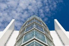 стекло современной архитектуры строя стоковые фотографии rf