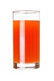 Стекло сока розового грейпфрута Стоковая Фотография