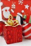 стекло состава рождества bauble голубое Стоковое Изображение