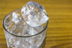 Стекло с льдом трубки Стоковое Изображение