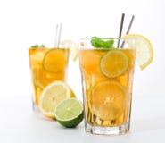 Стекло чая льда Стоковое Фото