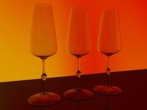 Стекло Шампани Стоковое Фото