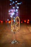 Стекло шампанского и шариков Стоковые Фотографии RF
