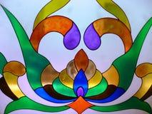 Стекло colourfull Abstrax Стоковое Изображение