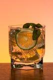 Стекло mojito с льдом Стоковая Фотография