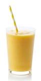 Стекло smoothie манго Стоковые Фотографии RF