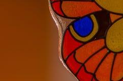 Стеклянная бабочка Стоковые Изображения