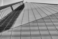 Стеклянная башня - офисное здание Стоковые Фотографии RF
