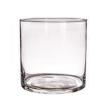 Стеклянная ваза изолированная на белой предпосылке Стоковое фото RF