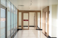 Стеклянная дверь Стоковое Изображение