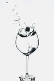 стеклянная вода Стоковые Фотографии RF