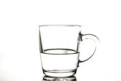 стеклянная вода Стоковое Фото