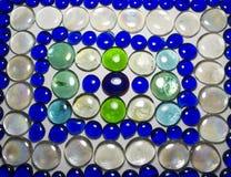 Стеклянная декоративная картина утесов Стоковые Фото