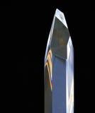 Стеклянная кристаллическая призма Стоковая Фотография RF