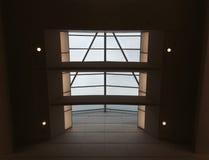 Стеклянная крыша и 4 фары Стоковая Фотография RF