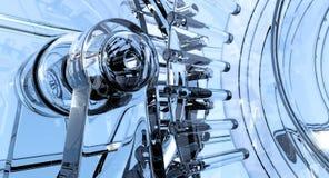 Стеклянная машина бесплатная иллюстрация