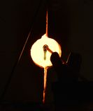 Стеклянная печь Джемстаун Стоковые Фотографии RF