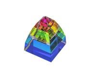 Стеклянная пирамида Стоковые Изображения