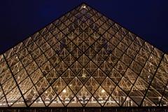 стеклянная пирамидка Стоковые Изображения