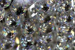 Стеклянная предпосылка кристаллов Стоковые Изображения RF