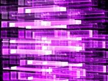 Стеклянная решетка - изображение конспекта цифров произведенное Стоковое Фото