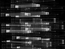 Стеклянная решетка - изображение конспекта цифров произведенное бесплатная иллюстрация