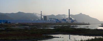 Стеклянная фабрика Стоковая Фотография RF