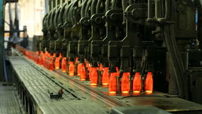 Стеклянная фабрика видеоматериал