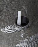 стеклянное красное вино Стоковые Фотографии RF