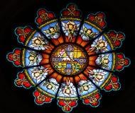 Стеклянное окно Стоковые Фото