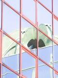 Стеклянное покрашенное отражение Стоковая Фотография