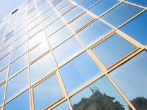 Стеклянное покрашенное отражение Стоковое Изображение RF