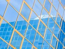 Стеклянное покрашенное отражение Стоковое фото RF