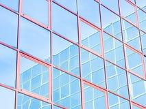 Стеклянное покрашенное отражение Стоковое Изображение